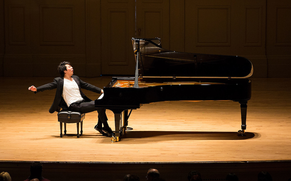Lang Lang, Symphony Hall, Boston