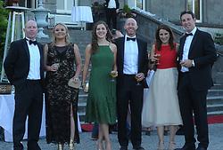 Brian Coffey, enjoying the Westport Food Festival Mid Summer Banquet at Westport House.<br /> Pic Conor McKeown