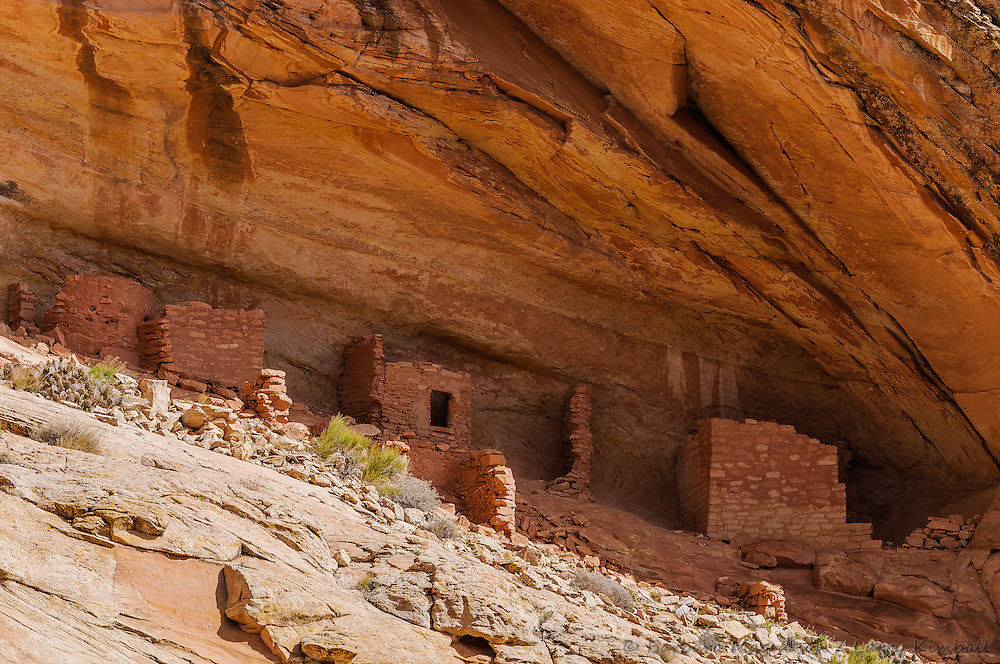 Anasazi ruin, Comb Ridge, Utah