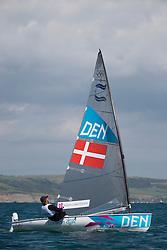 2012 Olympic Games London / Weymouth<br /> <br /> Finn practice race<br /> Finn DENHoegh-Christensen Jonas