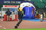 Tunnel during match 46 of the Hero Indian Super League between Chennaiyin FC and FC Pune City held at the Jawaharlal Nehru Stadium, Chennai India on the 13th January 2018<br /> <br /> Photo by: Deepak Malik  / ISL / SPORTZPICS