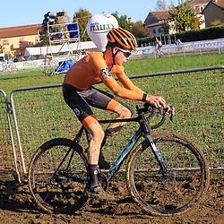 10-11-2019: Wielrennen: Europees Kampioenschap Veldrijden: Silvelle<br />Tibor del Grosso