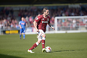 Northampton Town Striker Ricky Holmes during the Sky Bet League 2 match between Northampton Town and Notts County at Sixfields Stadium, Northampton, England on 2 April 2016. Photo by Dennis Goodwin.