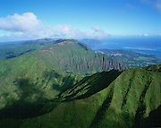 Ko'olau Mountains, Oahu, Hawaii, USA<br />