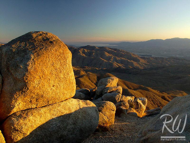 Keys View at Sunset, Joshua Tree National Park, California