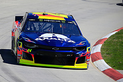 March 23, 2019 - Martinsville, VA, U.S. - MARTINSVILLE, VA - MARCH 23: #24: William Byron, Hendrick Motorsports, Chevrolet Camaro Axalta during final practice for the STP 500 Monster Energy NASCAR Cup Series race on March 23, 2019 at the Martinsville Speedway in Martinsville, VA.  (Photo by David J. Griffin/Icon Sportswire) (Credit Image: © David J. Griffin/Icon SMI via ZUMA Press)