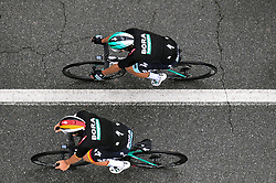 26.05.2019, Ivrea, Como, ITA, Giro d Italia 2019, 15. Etappe, Ivrea - Como (237 km), im Bild BORA – HANSGROHE // BORA – HANSGROHE during stage 15 of the 102nd Giro d'Italia cycling race from Ivrea to Como (237 km) Ivrea in Como, Italy on 2019/05/26. EXPA Pictures © 2019, PhotoCredit: EXPA/ laPresse/ Massimo Paolone<br /> <br /> *****ATTENTION - for AUT, SUI, CRO, SLO only*****