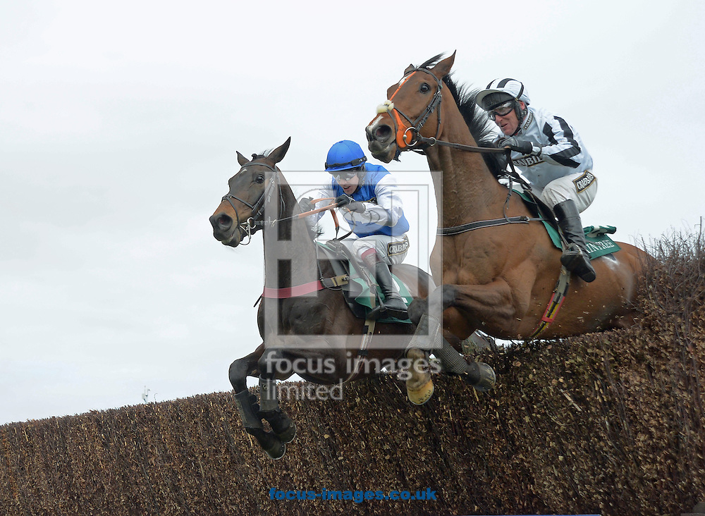 A preview of this weekend's favourites in UK Racing.<br /> Picture by Martin Lynch/Focus Images Ltd 07501333150<br /> 09/12/2016<br /> <br /> Original caption:<br /> Left is ASO right is ROCK THE WORLD at Aintree 7-4-16.