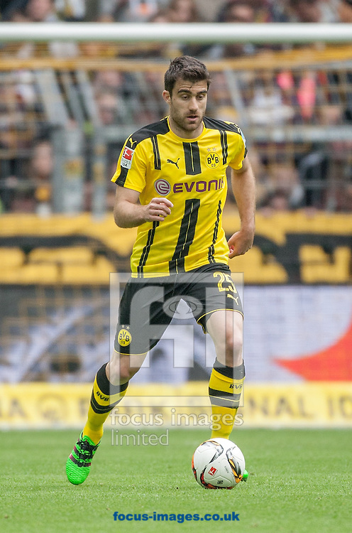 Sokratis of Borussia Dortmund during the Bundesliga match at Signal Iduna Park, Dortmund<br /> Picture by EXPA Pictures/Focus Images Ltd 07814482222<br /> 14/05/2016<br /> ***UK &amp; IRELAND ONLY***<br /> EXPA-EIB-160515-0072.jpg