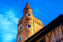 An unusual builing in the Rue Saint-Rome, Toulouse, France<br /> <br /> (c) Andrew Wilson   Edinburgh Elite media