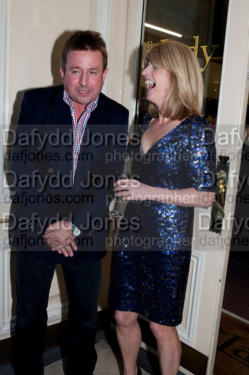 BEN BUDWORTH; RACHEL JOHNSON, Rachel's Johnson's 'A Diary of the Lady'book launch at The Lady's offices. Covent Garden. London. 30 September 2010. -DO NOT ARCHIVE-© Copyright Photograph by Dafydd Jones. 248 Clapham Rd. London SW9 0PZ. Tel 0207 820 0771. www.dafjones.com.