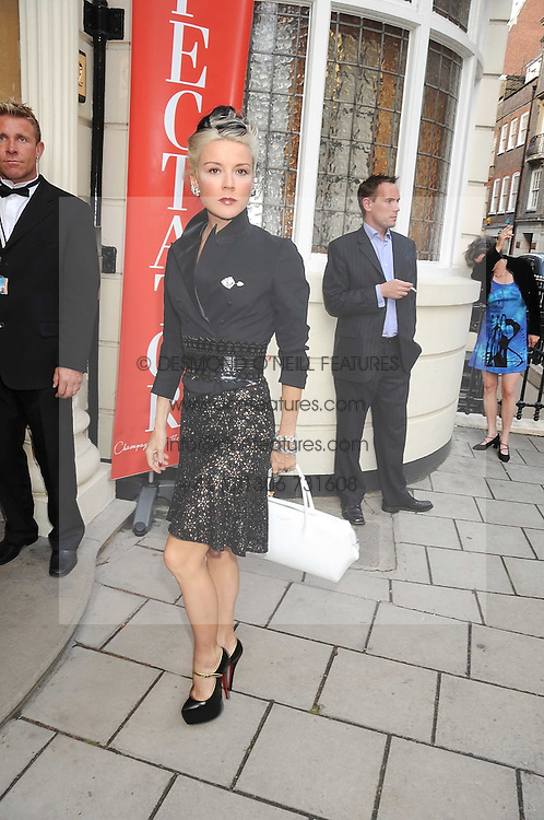 DAPHNE GUINNESS at the Spectator Summer Party held at 22 Old Queen Street, London SW1 on 3rd July 2008.<br />