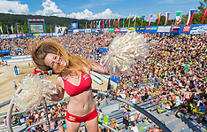 20140801 AUT: FIVB Grandslam Volleybal, Klagenfurt