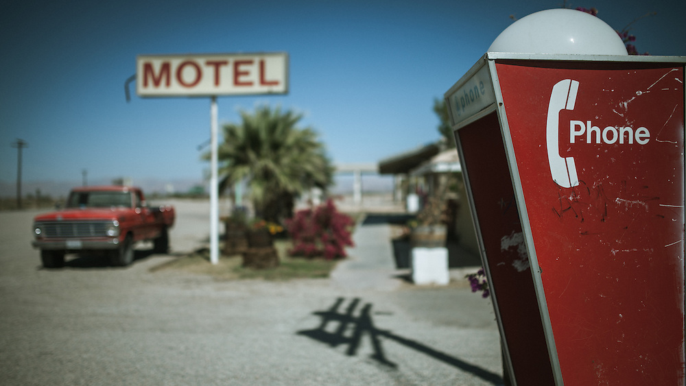 Into The Range - A Road Trip to Slab City