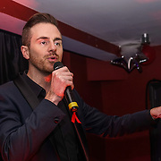 Andy West from Big Brother 2016 host the World AIDS Day Extravaganza at Muse Soho,London,UK one night to help raise money for GMFA – The gay men's health charity and their HIV prevention and stigma-challenging work on 1st December 2016 in Soho,London,UK. Photo by See Li