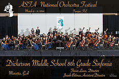 Dickerson Middle School 8th Grade Sinfonia