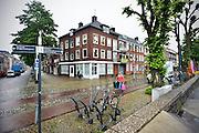 Nederland, Arnhem, 27-5-2014 De lokatie op de hoek van de Nieuwstraat en de Rijkade waar het afgeblazen gebouw Arta gepland was.Foto: Flip Franssen/Hollandse Hoogte