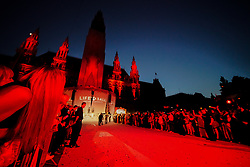 08.06.2019, Rathaus, Wien, AUT, Life Ball, im Bild Uebersicht ueber den Rathausplatz // during the Life Ball at the Rathaus in Wien, Austria on 2019/06/08. EXPA Pictures © 2019, PhotoCredit: EXPA/ Florian Schroetter
