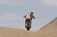 MOTORSPORT - DAKAR ARGENTINA CHILE 2010 - STAGE 4 - FIAMBALA (CHI) / COPIACO (CHI) - 05/01/2010- PHOTO : FRANCOIS FLAMAND / DPPI<br /> 1 - MARC  COMA  ( SPA ) - KTM 690 RALLY - ACTION