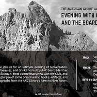 American Alpine Club Invitation, Black and white of Eldorado Springs State Park