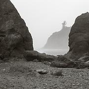 View through the rocks - Ruby Beach, WA