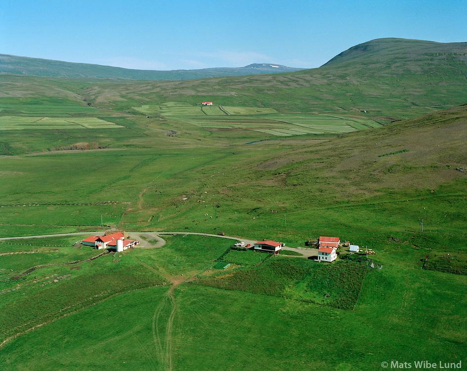 Sauðafell séð til austurs, Dalabyggð áður Miðdalahreppur / Saudafell viewing east, Dalabyggd former Middalahrdeppur.