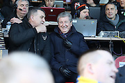 Former England Manager Roy Hodgson prior the EFL Sky Bet League 1 match between AFC Wimbledon and Oxford United at the Cherry Red Records Stadium, Kingston, England on 14 January 2017. Photo by Stuart Butcher.