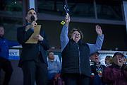 KELOWNA, CANADA - NOVEMBER 29:  Tim Hortons at the Kelowna Rockets game on November 29, 2017 at Prospera Place in Kelowna, British Columbia, Canada.  (Photo By Cindy Rogers/Nyasa Photography,  *** Local Caption ***