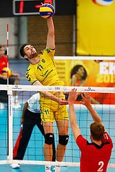20140928 NED: Supercup, Landstede Volleybal - Kootfin Taurus: Sneek<br /> Willem-Maarten Heins (11) of Landstede Volleybal<br /> ©2014-FotoHoogendoorn.nl / Pim Waslander