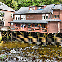 Salmon Lookout Point in Ketchikan, Alaska <br />