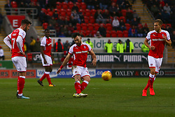 Richie Towell of Rotherham United crosses the ball from a free kick - Mandatory by-line: Ryan Crockett/JMP - 16/12/2017 - FOOTBALL - Aesseal New York Stadium - Rotherham, England - Rotherham United v Plymouth Argyle - Sky Bet League One
