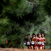 9/23/11 10:44:38 AM --- CROSS COUNTY SPORTS SHOOTER ACADEMY 008 ---  Runners participate in the Golden West College Cross Country race at Central Park, Huntington Beach, CA. Photo: Felix Heyder, Sports Shooter Academy