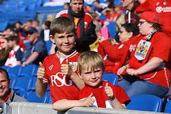 Bristol City fans - Mandatory by-line: Jason Brown/JMP - 29/04/2017 - FOOTBALL - Amex Stadium - Brighton, England - Brighton and Hove Albion v Bristol City - Sky Bet Championship