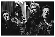 The Clash Photosession in Belfast - 1977