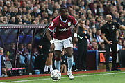 Yannick Bolasie of Aston Villa (11) looks to cross during the EFL Sky Bet Championship match between Aston Villa and Rotherham United at Villa Park, Birmingham, England on 18 September 2018.