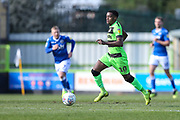 Forest Green Rovers Reece Brown(10) runs forward during the EFL Sky Bet League 2 match between Forest Green Rovers and Macclesfield Town at the New Lawn, Forest Green, United Kingdom on 13 April 2019.