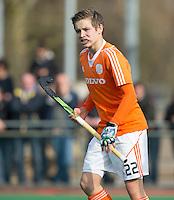 ROTTERDAM -   Alexander Schop  (Neth)   . Practice Match  Hockey : Netherlands Boys U16  v England U16 . COPYRIGHT KOEN SUYK
