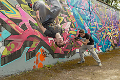 Andrew/Jason - Freerunning Tour 2015
