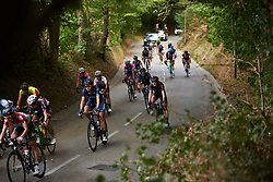 Hannah Barnes (GBR) in the bunch at Boels Ladies Tour 2018 - Stage 5, a 159.7km road race in Sittard, Netherlands on September 1, 2018. Photo by Sean Robinson/velofocus.com