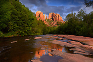 A local park in Sedona, Arizona
