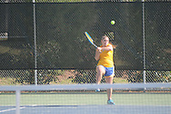 Oxford High vs. Lafayette High in tennis action in Oxford, Miss. on Monday, April 8, 2013. Oxford won 7-0.