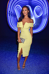 Maya Jama at the Warner Music & Ciroc Brit Awards party, Freemasons Hall, 60 Great Queen Street, London England. 22 February 2017.