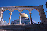 Israel, Jerusalem, Old City, Dome of the Rock