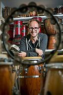 Percussionist Door Raeymaekers