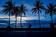 USA amerika. florida miami south beach art deco district , toestisten dagelijks leven op het strand south beach