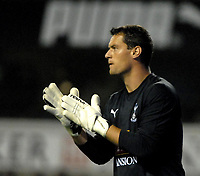 Photo: Ed Godden/Sportsbeat Images.<br /> Tottenham Hotspur v Anorthosis Famagusta. UEFA Cup, First Leg. 20/09/2007. Spurs' keeper, Radek Cerny.