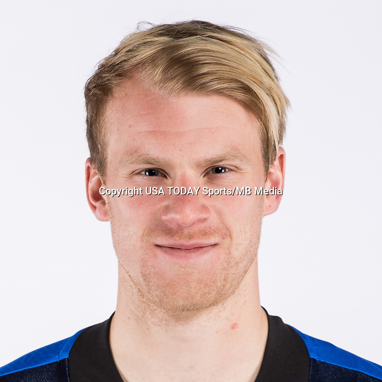 Feb 25, 2016; USA; Montreal Impact player Kyle Bekker poses for a photo. Mandatory Credit: USA TODAY Sports