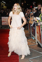 Elizabeth Olsen Martha Marcy May Marlene premiere at the 55th BFI London Film Festival, Vue Cinema, Leicester Square, London, UK. 21 October 2011. Contact: Rich@Piqtured.com +44(0)7941 079620 (Picture by Richard Goldschmidt)