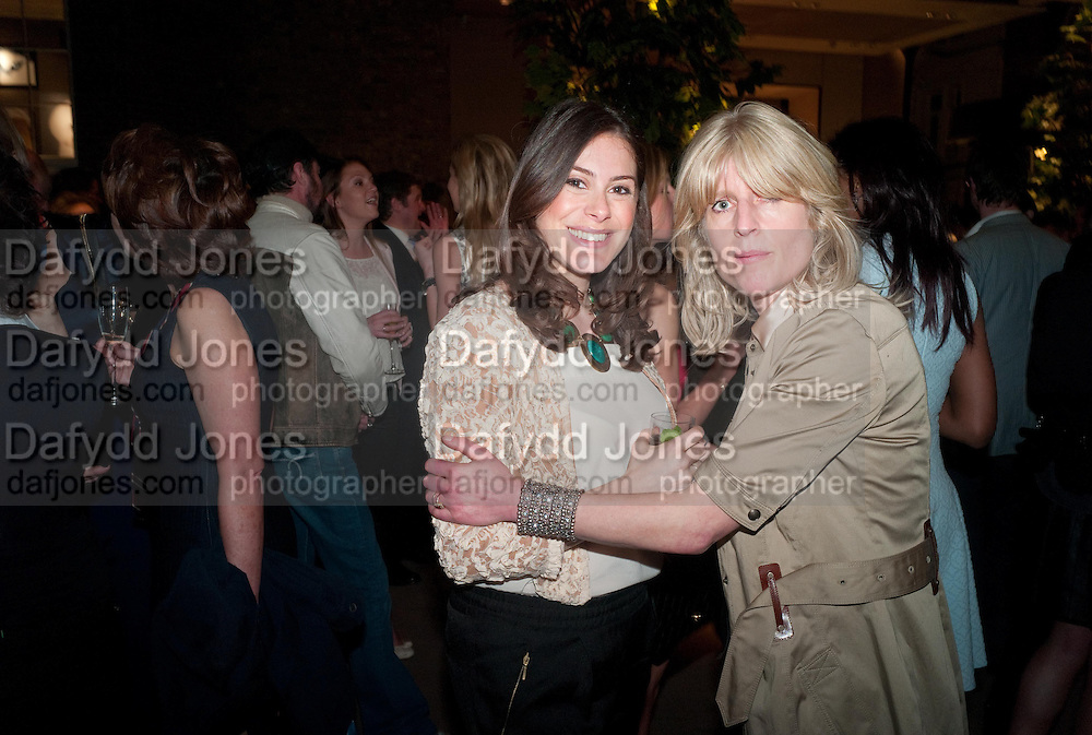 KATIE NICOLL; RACHEL JOHNSON, Spectator Life - launch party, Asprey London, 167 New Bond Street, London. 28 March 2012