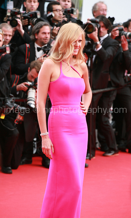 Lara Stone at The Search gala screening red carpet at the 67th Cannes Film Festival France. Tuesday 20th May 2014 in Cannes Film Festival, France.